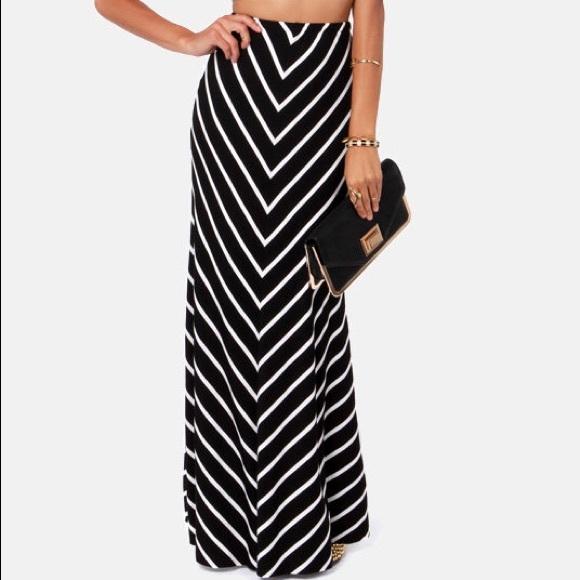 LOFT Dresses & Skirts - LOFT Striped Maxi Skirt